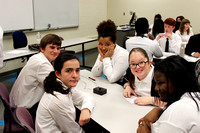 FSDB students sit at table during SkillsUSA competition