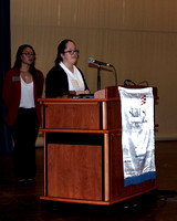 FSDB student Milliken gives a speech during SkillsUSA competition